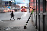 Elsparkcyklar har blivit allt vanligare i svenska storstäder på senare år. Arkivbild