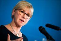 Margot Wallström är kritisk mot Anna Lindstedts agerande i samband med mötet på hotell Sheraton i Stockholm i januari 2019. Arkivbild.