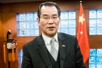 Kinas ambassadör Gui Congyou.