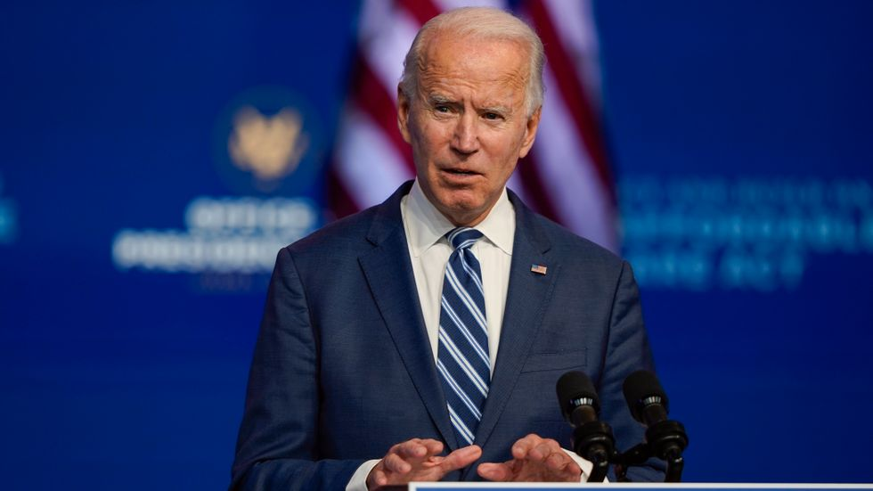 USA:s blivande president Joe Biden.