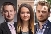 Arvid Danielsson, Siri Steijer och Fredrik Hultman