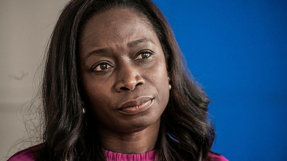 Nyamko Sabuni (L) får intern kritik efter svaga väljarstödet i SvD/Sifo