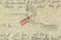 Detalj ur Aleksander Raukas skattkarta.