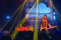 Lanseringsfest för Soundcloud Go i New York.