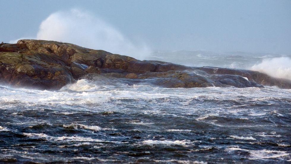 På torsdagen väntas storm på Kvarken. Arkivbild.