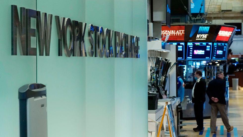 Investerarna på Wall Street gick en blek tisdag till mötes. Arkivbild.