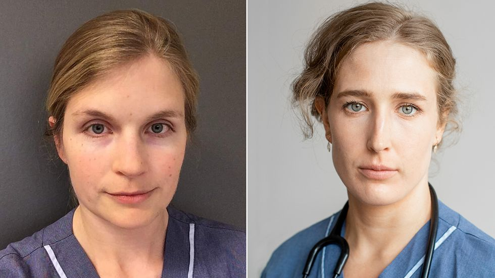 Elisabeth Ljunggren och Laura Björnström.