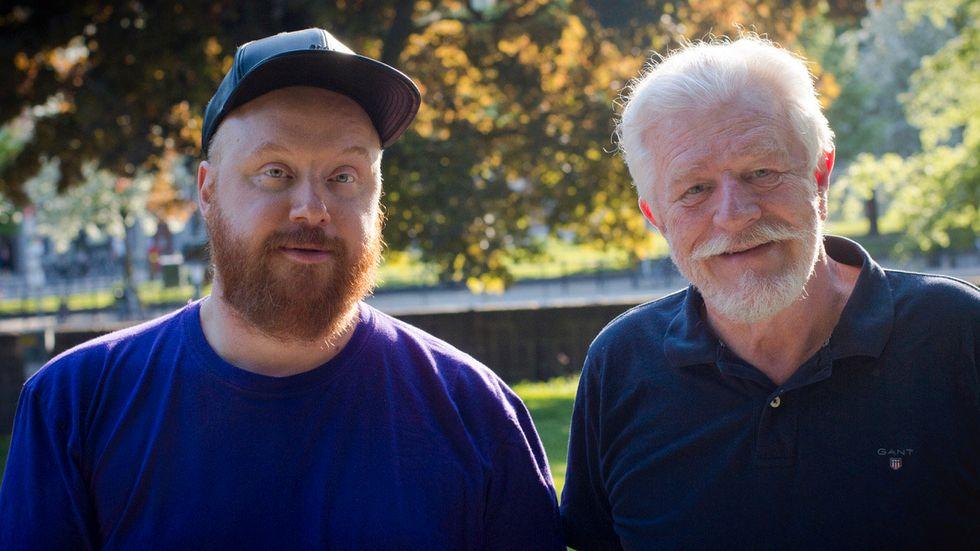 I första avsnittet möter Petter Wallenberg den 73-årige författaren Lars Fimmerstad, som berättar om sexuell frigörelse och 80-talets aidskris som tog hans livs kärleks liv. Pressbild.