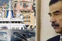 De nuvarande ägarna av Husseins lyxyacht har försökt sälja den för 260 miljoner kronor.