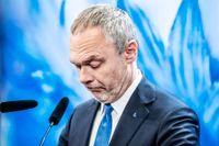 Partiledaren Jan Björklund (L) som aviserat sin avgång.
