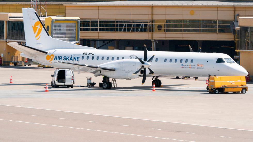 Air Leap pausar sina flygningar mellan Bromma och Skåne som trafikerats under varumärket Air Skåne.