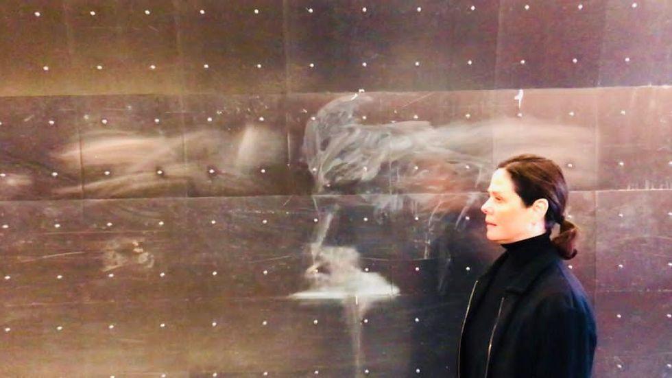 Teresia Björk är aktuell med en utställning och ett nytt dansverk på Per Jonsson Dance Center i Ljusdal samt en kortfilm.