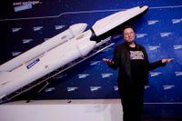 Elon Musk har gått om Amazons grundare Jeff Besos som världens rikaste man. Arkivbild.