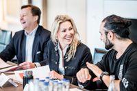 Delar av juryn: Carnegies vd Björn Jansson, Expandera Meras vd Jessica Löfström –  vinnare av SvD:s Affärsbragd 2016 – och Arash Ash Pournouri, skivbolagsägare, låtskrivare och manager bland annat till Avicii.