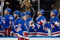 Rangers vann med 4–2 mot Boston.