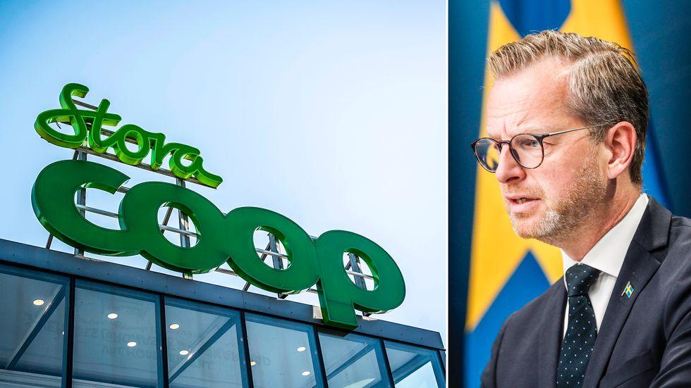 Inrikesminister Mikael Damberg menar att det är företagen själva som måste agera för att bekämpa cyberbrott som det Coop drabbades av.