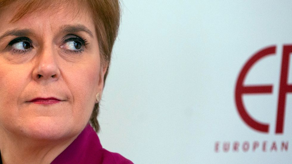 Nicola Sturgeon är Skottlands regionala regeringschef. Arkivbild.
