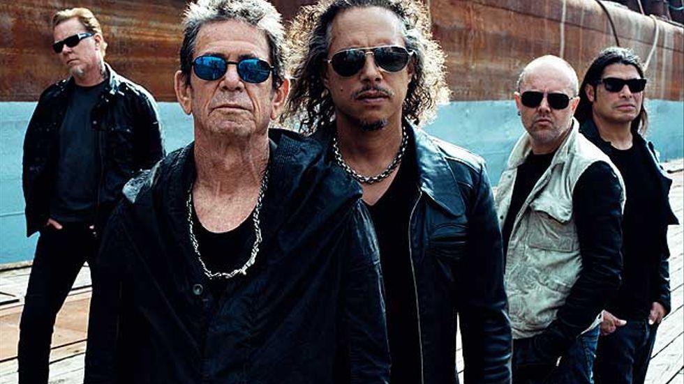Lou Reed och Metallica går inte så bra ihop.