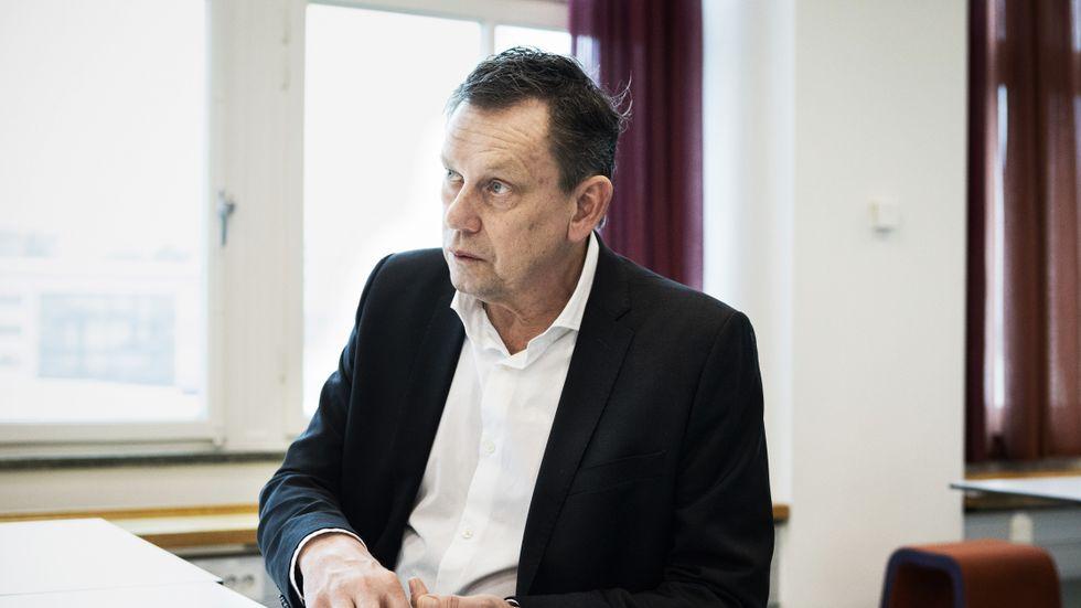 Thomas Falk, nationell samordnare för Försäkringskassans arbete mot organiserad brottslighet.