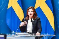 """""""Vi ser att arbetslösheten minskar något och sysselsättning ökar något"""", säger Eva Nordmark."""