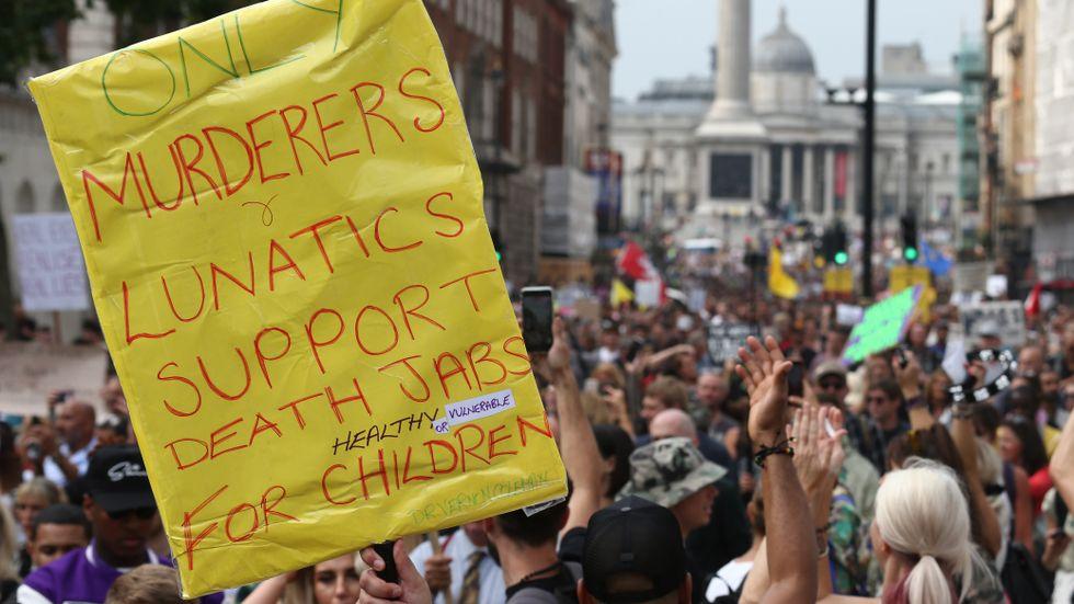 Lördagen kantades av stora demonstrationer i bland annat London.
