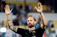 Hammarbys målvakt Johan Wiland är skadad och missar toppmötet mot Malmö FF. Arkivbild.