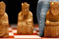 Schackpjäserna är ett av de mest populära föremålen på British Museum.