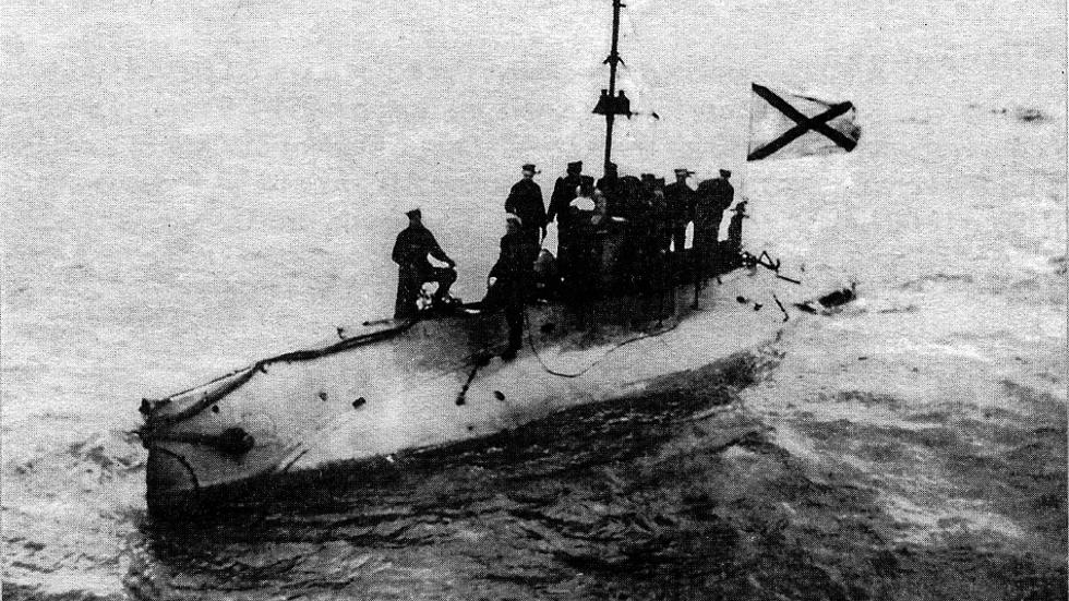 Ubåt av klassen SOM liknande den som hittades i Stockholms skärgård.