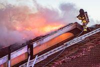 En ny metod ska minska riskerna för brandmän att drabbas av allvarliga sjukdomar. Arkivbild.