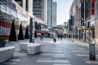 Ingen trängsel i Stockholm city och handeln lider inför den kommande julen.