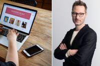 Stefan Larssons forskning visar att många svenskar saknar förtroende för hur e-handelsbolag hanterar deras data.