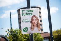 Danska Kira Marie Peter-Hansen, 21 år, från Socialistisk Folkeparti blir yngsta EU-parlamentarikern hittills.
