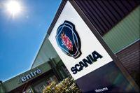 En man avled av sina skador efter en olycka på Scania i Södertälje 2017. Arkivbild.