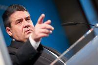 Tysklands vice förbundskansler och näringslivsminister Sigmar Gabriel.