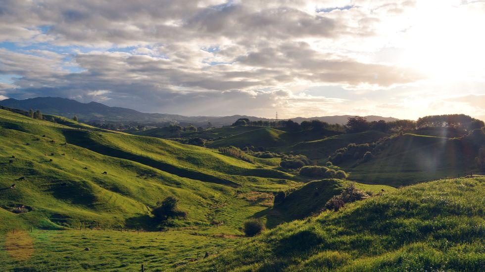 Nya Zeeland fortsätter att vara stängt för större delen av omvärlden. Arkivbild från Nordön.