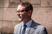 Lars Hjälmered, närings- och energipolitisk talesperson för Moderaterna.