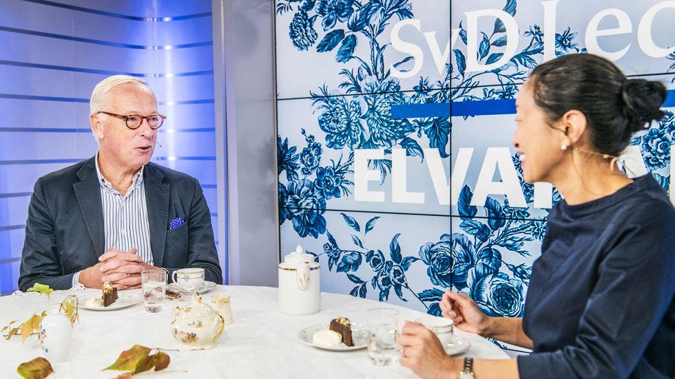 Tove Lifvendahl möter Gunnar Hökmark ( M) hösten 2018