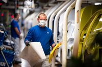Komponentbrist präglar de flesta bolagen inom tysk tillverkningsindustri. AP/TT