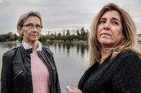 Sylvia Bäckström och Carinne Sjöberg var två av eldsjälarna i Judiska Föreningen i Umeå, innan nazisterna började hota och verksamheten lades på is. Läs mer om dem längre ner i texten.