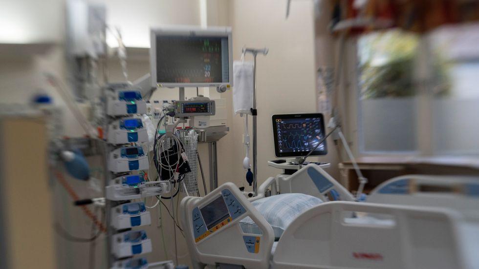 Antalet intensivvårdsplatser med respirator har minskat kraftigt sedan början av 1990-talet. Arkivbild.