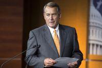 John Boehner, republikansk talman i USA:s representanthus.