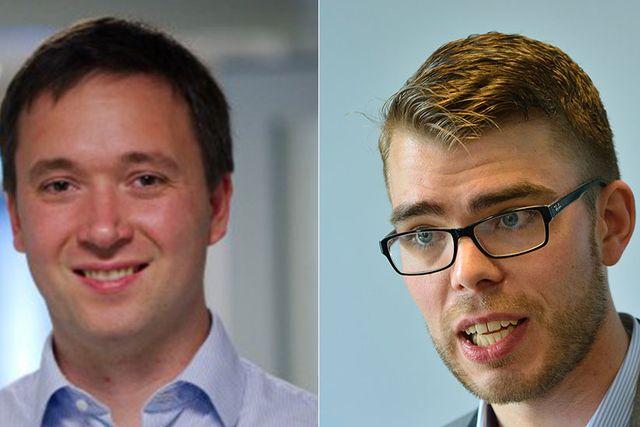 Jon Karlfeldt och Anders Wallner