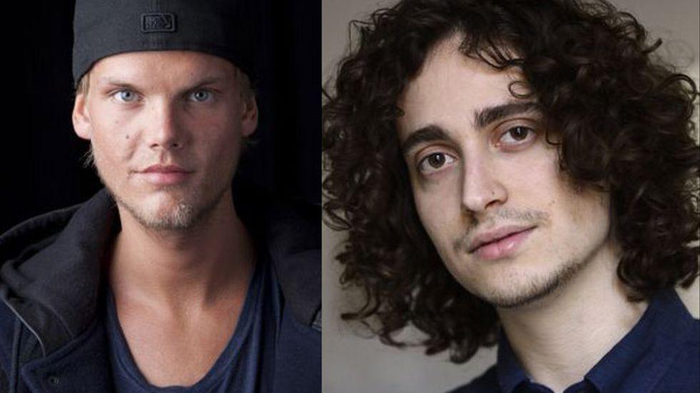 "Musikern Tim ""Avicii"" Bergling. Kompositören Jacob Mühlrad."