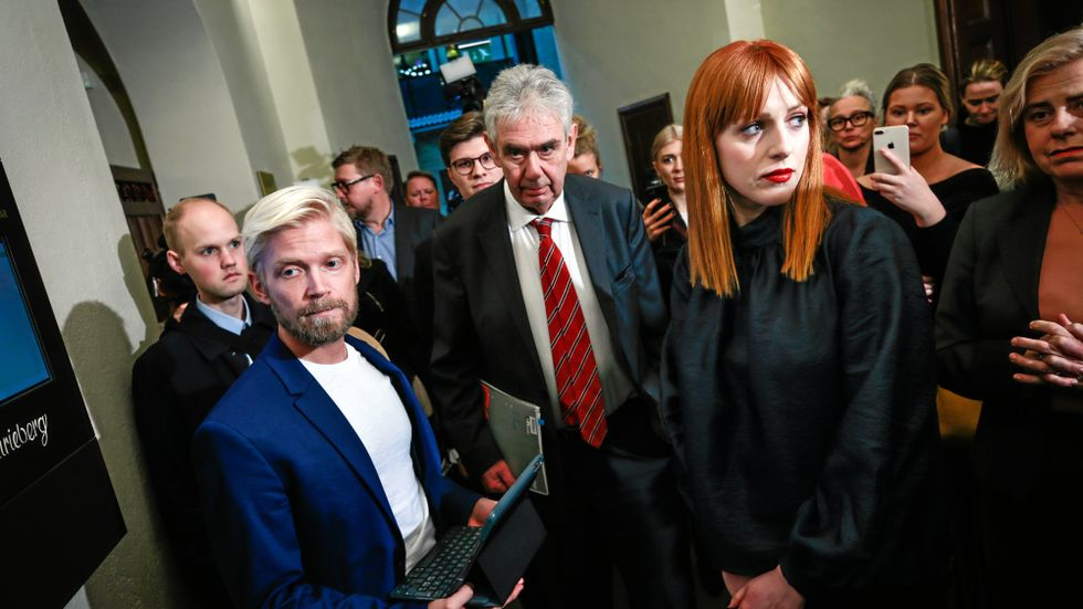 Debattören Cissi Wallin döms för grovt förtal av Stockholms tingsrätt.