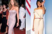 Melania Trumps makalösa stilresa