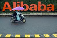 Kinesiska Alibaba redovisar andra kvartalet. Arkivbild.