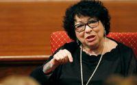 Den liberala domaren Sonia Sotomayor är kritisk till Högsta domstolens beslut. Arkivbild.