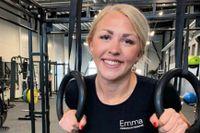 Emma Johnsson är personlig tränare och tipsar om olika sätt att träna hemma.