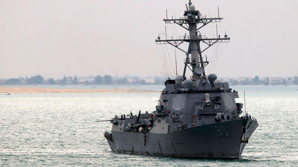 Jagaren USS Roosevelt.