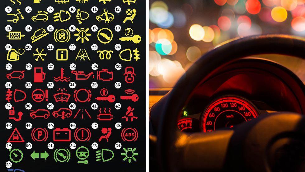 Bilarnas teknik har förändrats de senaste åren och det är inte alltid lätt att hänga med i svängarna. Många förare har svårt att identifiera vad varningssymbolerna signalerar.